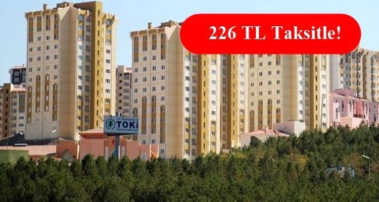 Toki Ankara Mamak Gülseren Mahallesi 1. ve 2. Etap 2 Mayıs'ta Satışta