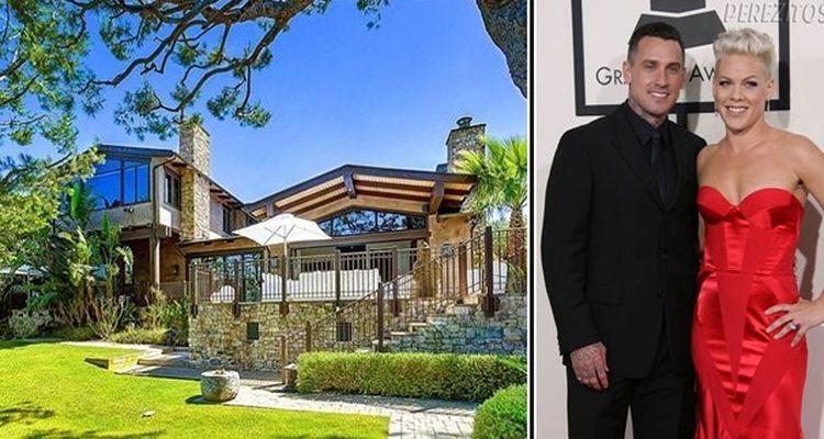 Pink Malibu'daki Evini Satışa Çıkardı