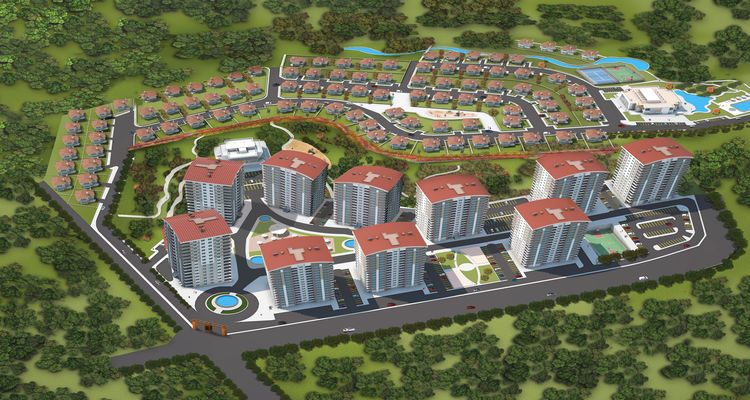 Mebuskent Projesi Ankara Karacakaya'da Yükseliyor