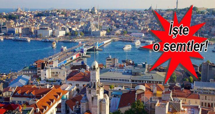 İstanbul'da İmar Planı Askıya Çıkan 10 Semt!