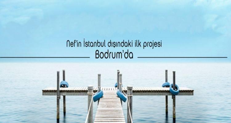 Nef Bodrum Projesi Haziran'da Satışta