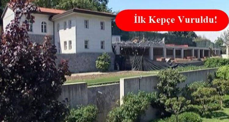Reza Zarrab'ın Kandilli'deki Villasında Yıkım