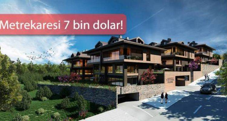 Therra Park Tarabya Projesinde Boğaz Manzaralı Villar Satışta
