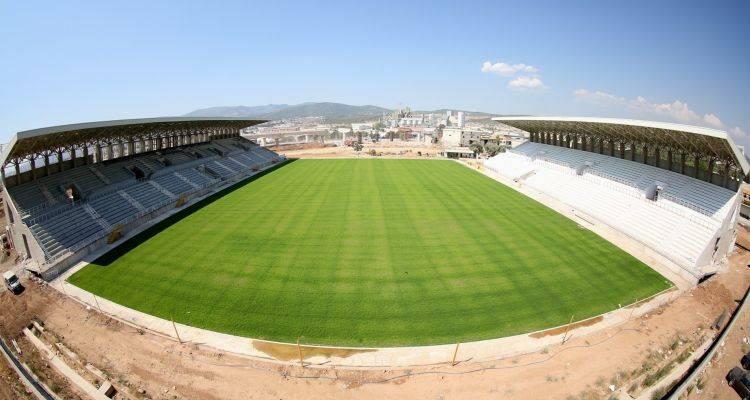 İzmir Doğanlar  Stadı İnşaatında Son Durum!