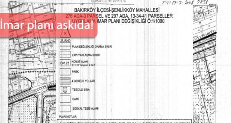 Bakırköy Şenlikköy'e 4 Kat Sınırı