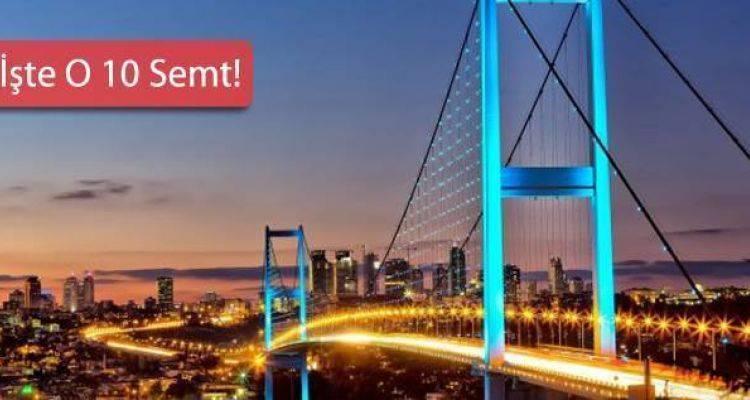 İstanbul'da Yeni İmar Planı Askıya Çıkan Semtler