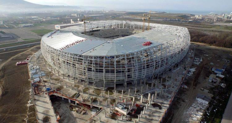 Samsun 19 Mayıs Stadyumu İnşaatında Son Durum