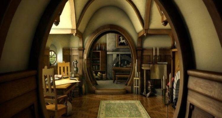 Birbirinden Değişik Hobbit Evleri