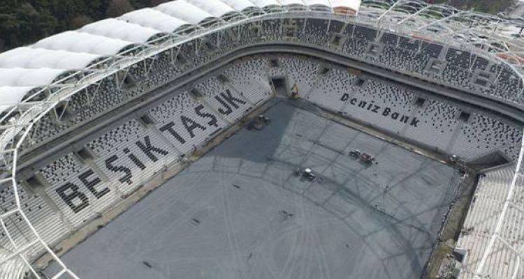 Vodafone Arena'da Çimlendirme Çalışmaları Başlıyor