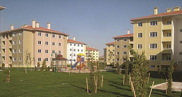 TOKİ'den Dinar'a 213 Konutluk Yeni Proje