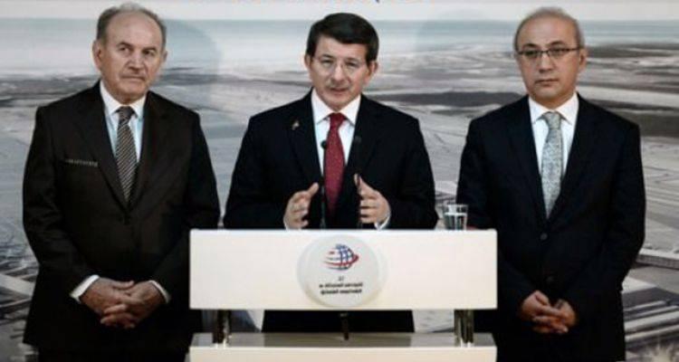 Başbakan Davutoğlu'ndan 3. Havalimanı Açıklaması
