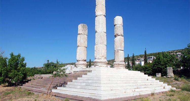 Apollon Tapınağı 2 Bin Yıl Sonra Yeniden İnşa Ediliyor
