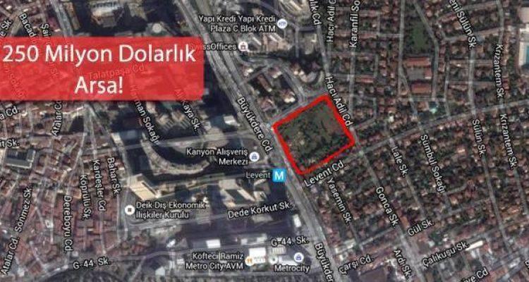 Merkez Bankası'nın Levent Arsası Cami Oluyor