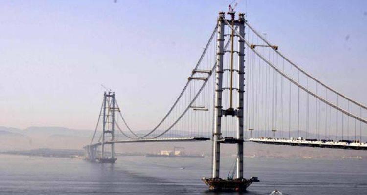 İzmit Körfez Geçişi Asma Köprüsü'nde Son Durum