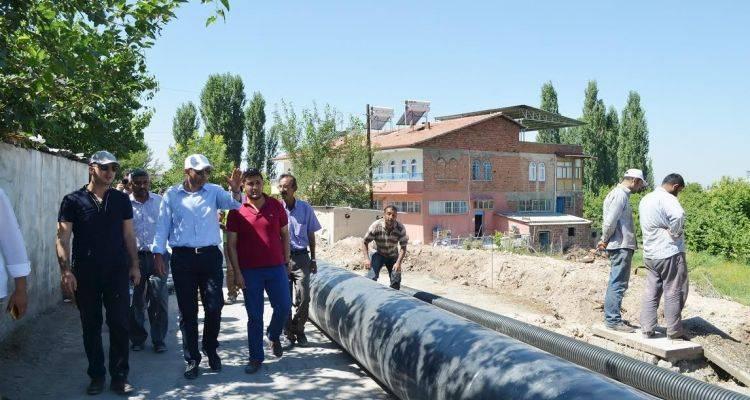 Malatya'da 3 Mahallenin Şebeke Hatları Yenileniyor!