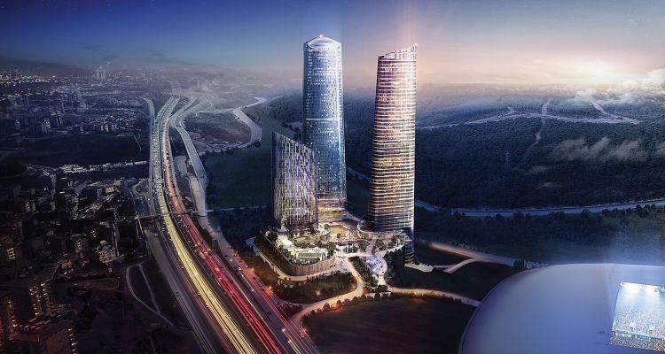 İstanbul'un Gökdeleni Skyland 280 Metre Olacak