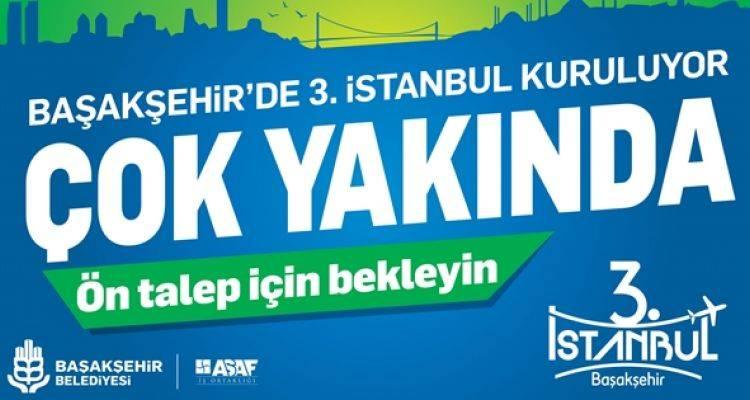 3. İstanbul Projesi İçin Geri Sayım Başladı