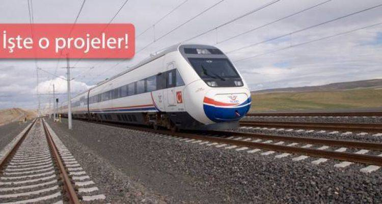 Türkiye'ye Mega Ulaşım Projeleri