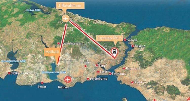 3. Havalimanı Metro Hatları Bakanlığa Emanet