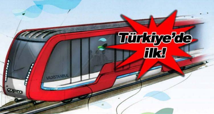 Vadi İstanbul Havaray Projesi İçin Düğmeye Basıldı!
