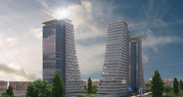 Mina Towers 1.702 Konuttan Oluşuyor