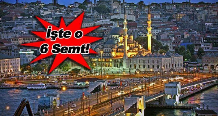 İstanbul'da Bu 6 Semtin İmar Planı Askıya Çıktı!