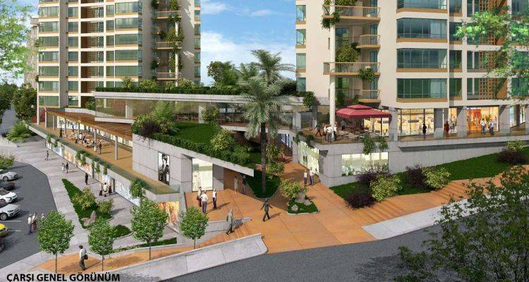 Papatya Park Residence Projesinde 277 Bin TL'ye 2+1