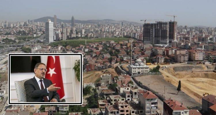 Bakan Mehmet Özhaseki'den Flaş Fikirtepe Açıklaması
