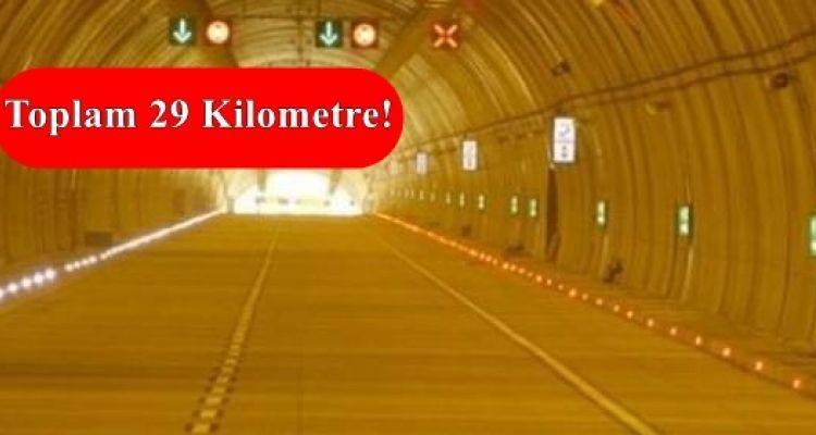 İstanbul'a 7 Yeni Tünel Geliyor