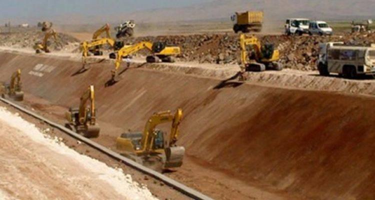 Mardin'e 221 Kilometrelik Suni Nehir İnşa Edildi