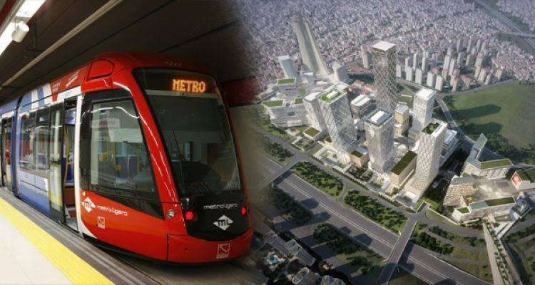 İBB Finans Merkezi Metro Hattı'nı Programına Aldı