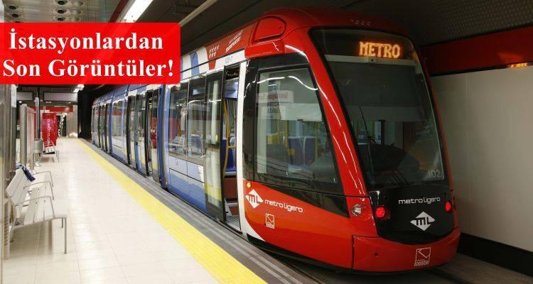 Üsküdar Sancaktepe Metrosunda Son Durum