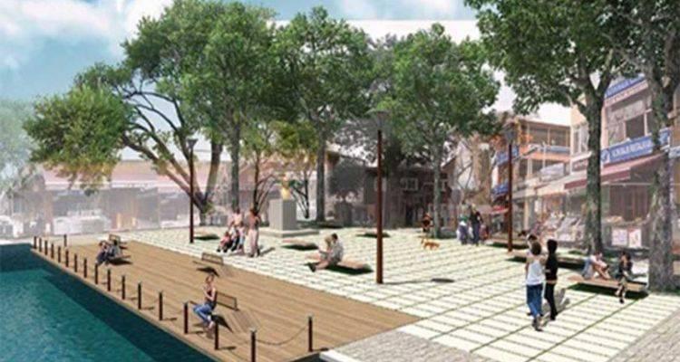 Boğaz'ın Ortasına Yeni Meydan!