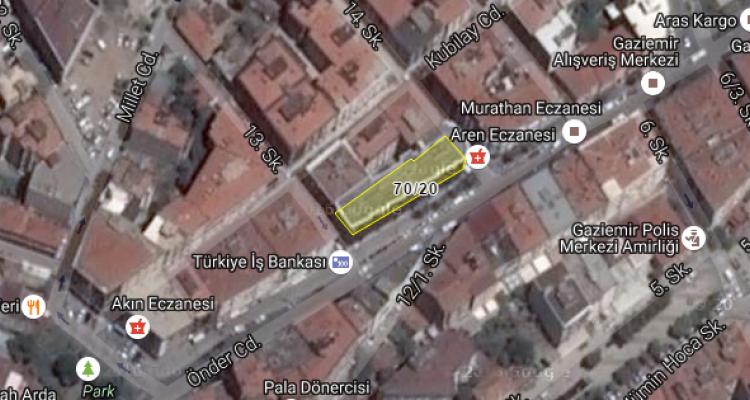 Gaziemir Belediyesi'nden Satılık İşyeri
