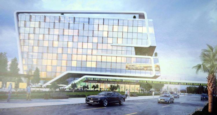 Efeler Eski Otobüs Terminali Yerinde Dünya İş Merkezi Yükselecek