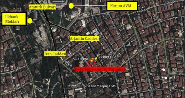 Atakule GYO Ankara Çankaya Projesine Yapı Ruhsatı Çıktı