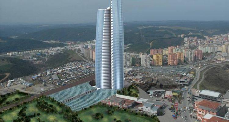 Çintemani İstanbul Seyrantepe'de Yükseliyor