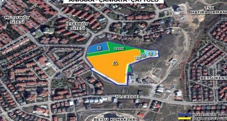Emlak Konut Ankara Çankaya Projesinde Yer Teslimi Yapıldı!