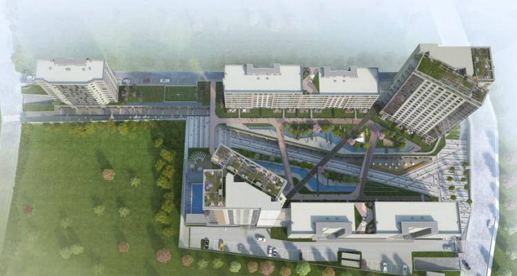 Sur Yapı Corridor Projesinde Rezidans Daireler Satışa Çıktı