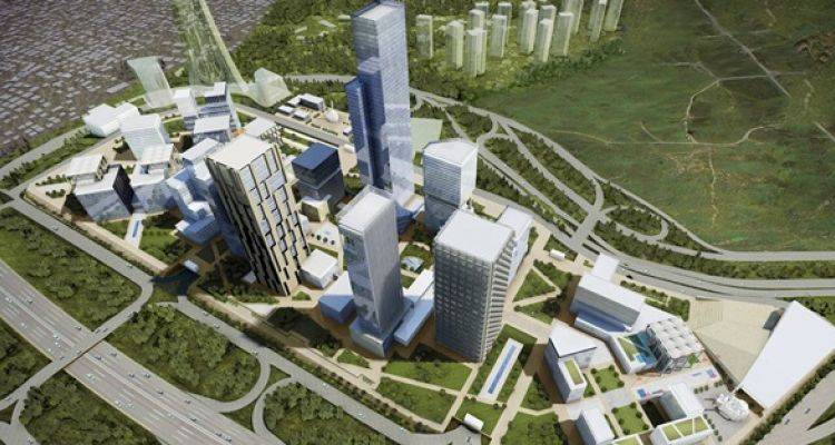 İstanbul Finans Merkezi'nde BDDK ve SPK Binalarının Temeli Atılıyor