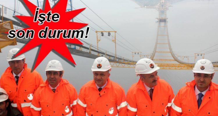 Körfez Geçiş Köprüsü İnşaatı Son Hızla Devam Ediyor!