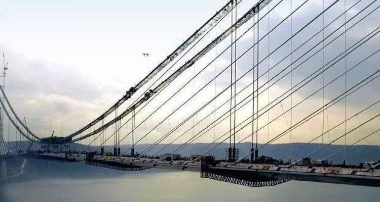 Yavuz Sultan Süleyman Köprüsü'nde Son Tabliyeler Takıldı