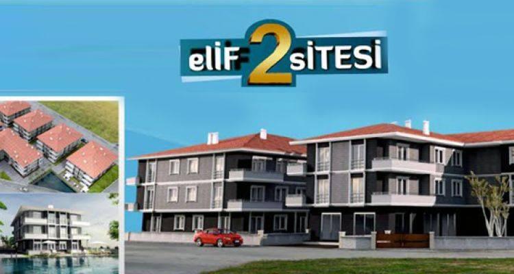 Elif 2 Sitesi Projesinde 75 Bin Liraya Daireler!