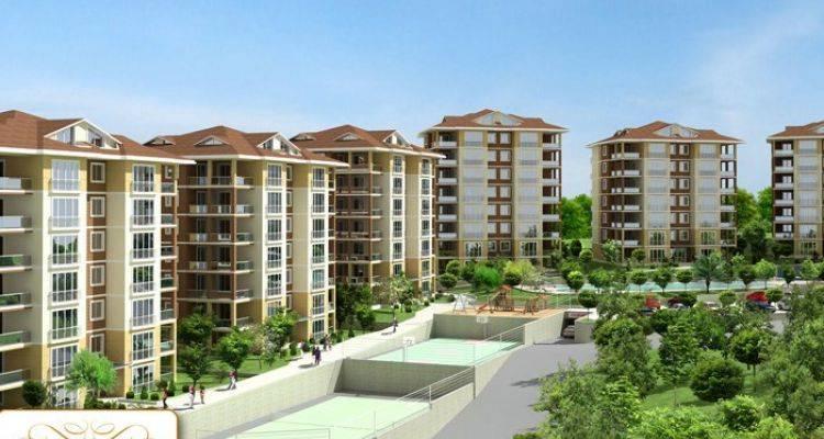Bursa Akasya Evleri Projesi 7 Blokta 98 Konuttan Oluşuyor