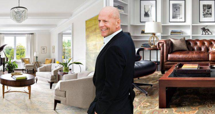 Bruce Willis'in 17 Milyon Dolarlık Evi