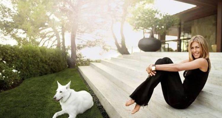 Jennifer Aniston'ın Beverly Hills'teki Muhteşem Evi