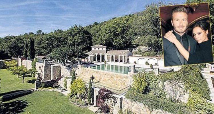 Beckham Çifti Fransa'daki Evini Satışa Çıkardı