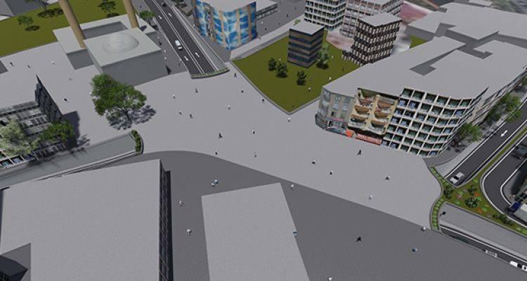 Gaziosmanpaşa Küçükköy Meydanı Yeniden Düzenleniyor!