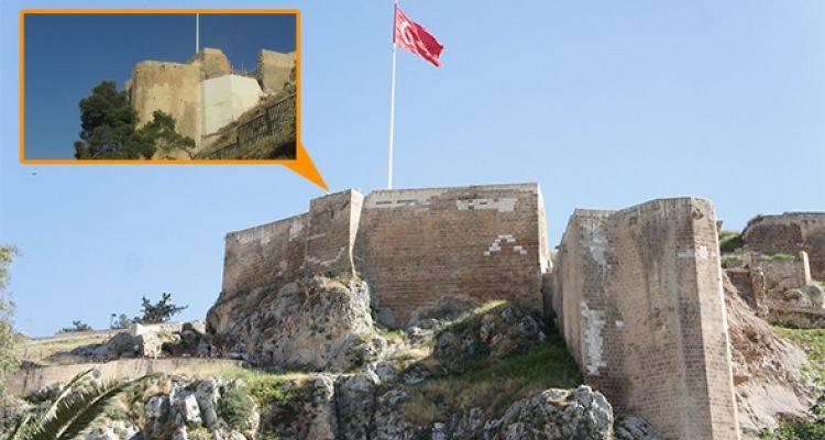 Tarihi Urfa Kalesi'nde Restorasyon Rezilliği