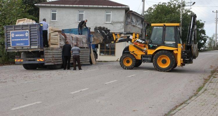 Kocaeli Çamkonak Köyü Ortak Alanları Onarılıyor!